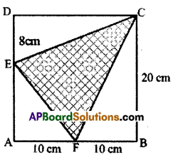 AP Board 7th Class Maths Solutions Chapter 13 Area and Perimeter Ex 3 8
