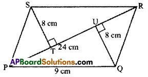 AP Board 7th Class Maths Solutions Chapter 13 Area and Perimeter Ex 3 9