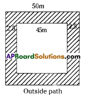 AP Board 7th Class Maths Solutions Chapter 13 Area and Perimeter Ex 6 1