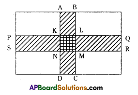 AP Board 7th Class Maths Solutions Chapter 13 Area and Perimeter Ex 6 5