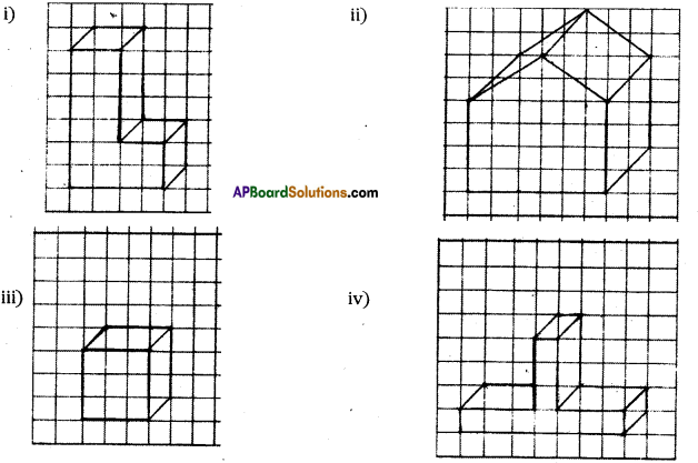 AP Board 7th Class Maths Solutions Chapter 14 Understanding 3D and 2D Shapes Ex 3 6