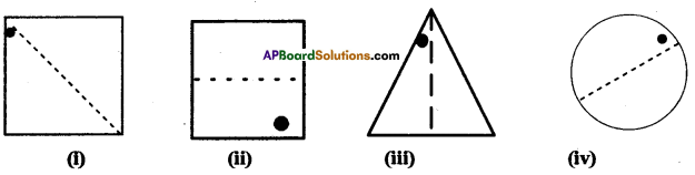 AP Board 7th Class Maths Solutions Chapter 15 Symmetry Ex 2 4