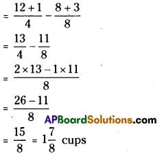 AP Board 7th Class Maths Solutions Chapter 2 Fractions, Decimals and Rational Numbers Ex 1 6