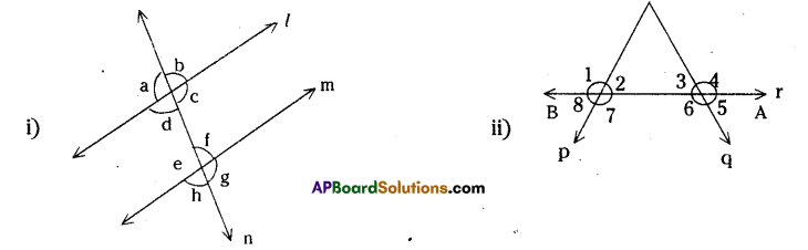 AP Board 7th Class Maths Solutions Chapter 4 Lines and Angles InText Questions 1