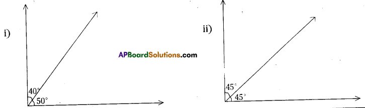 AP Board 7th Class Maths Solutions Chapter 4 Lines and Angles InText Questions 6
