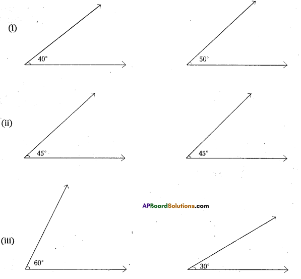 AP Board 7th Class Maths Solutions Chapter 4 Lines and Angles InText Questions 8