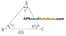 AP Board 7th Class Maths Solutions Chapter 5 Triangle and Its Properties Ex 3 1