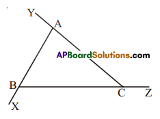 AP Board 7th Class Maths Solutions Chapter 5 Triangle and Its Properties Ex 4 1