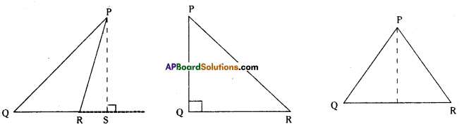 AP Board 7th Class Maths Solutions Chapter 5 Triangle and Its Properties InText Questions 7