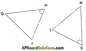 AP Board 7th Class Maths Solutions Chapter 8 Congruency of Triangles Ex 2 1