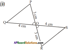 AP Board 7th Class Maths Solutions Chapter 8 Congruency of Triangles Ex 2 4
