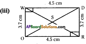 AP Board 7th Class Maths Solutions Chapter 8 Congruency of Triangles Ex 2 5