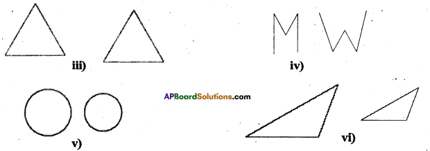 AP Board 7th Class Maths Solutions Chapter 8 Congruency of Triangles InText Questions 3