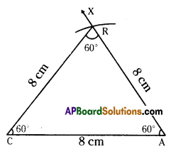 AP Board 7th Class Maths Solutions Chapter 9 Construction of Triangles Ex 2 2