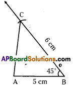 AP Board 7th Class Maths Solutions Chapter 9 Construction of Triangles Ex 2 4