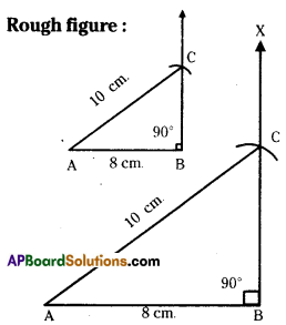 AP Board 7th Class Maths Solutions Chapter 9 Construction of Triangles Ex 4 1