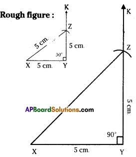 AP Board 7th Class Maths Solutions Chapter 9 Construction of Triangles Ex 4 3