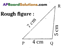 AP Board 7th Class Maths Solutions Chapter 9 Construction of Triangles InText Questions 1