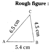 AP Board 7th Class Maths Solutions Chapter 9 Construction of Triangles InText Questions 5