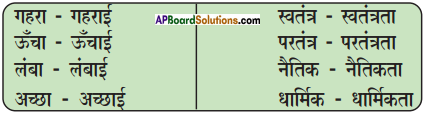 AP Board 9th Class Hindi Solutions Chapter 4 प्रकृति की सीख 5