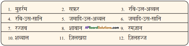 AP Board 9th Class Hindi Solutions Chapter 9 रमज़ान 2