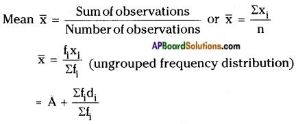 AP Board 9th Class Maths Notes Chapter 9 Statistics 1