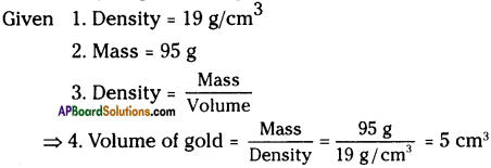 AP Board 9th Class Physical Science Important Questions Chapter 9 Floating Bodies 5