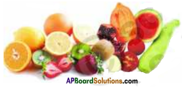 AP Board 7th Class Science Important Questions Chapter 1 Food Components 3a