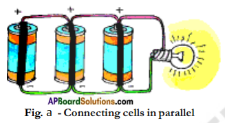 AP Board 7th Class Science Important Questions Chapter 7 Electricity – Current and Its Effect 3