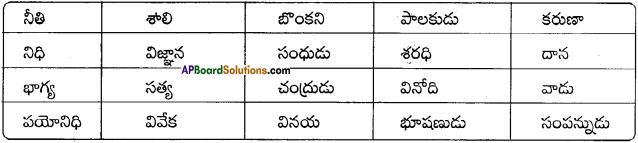 AP Board 8th Class Telugu Solutions Chapter 7 హరిశ్చంద్రుడు 1