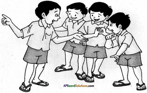 AP Board 6th Class Hindi Solutions सन्नद्धता कार्यक्रम Chapter 12 मौखिक खेल 1