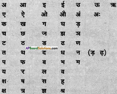 AP Board 6th Class Hindi Solutions सन्नद्धता कार्यक्रम Chapter 12 मौखिक खेल 2