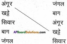 AP Board 6th Class Hindi Solutions सन्नद्धता कार्यक्रम Chapter 13 खट्टे अंगूर 5