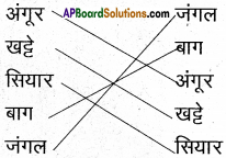 AP Board 6th Class Hindi Solutions सन्नद्धता कार्यक्रम Chapter 13 खट्टे अंगूर 6
