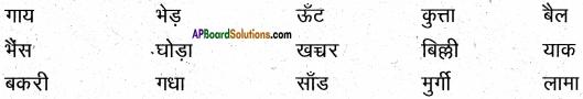 AP Board 6th Class Hindi Solutions सन्नद्धता कार्यक्रम Chapter 16 शेर और चूहा 3