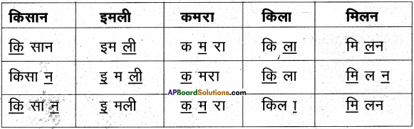 AP Board 6th Class Hindi Solutions Chapter 2 तितली 10