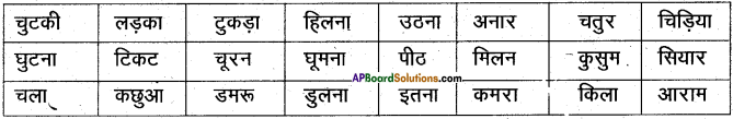 AP Board 6th Class Hindi Solutions Chapter 3 ऊँट चला 29