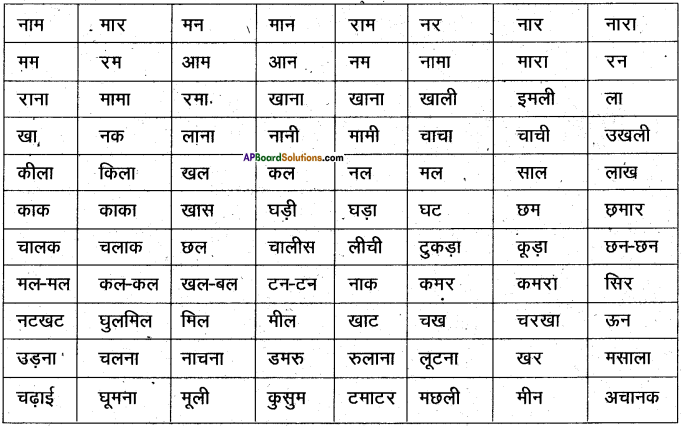 AP Board 6th Class Hindi Solutions Chapter 3 ऊँट चला 33