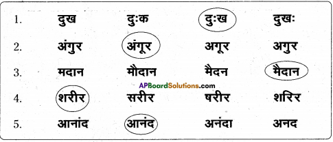 AP Board 6th Class Hindi Solutions Chapter 7 दो मित्र 9