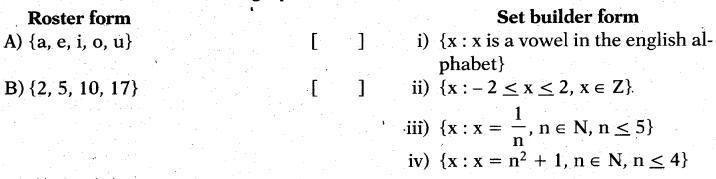 AP 10th Class Maths Bits Chapter 2 Sets Bits 13 1