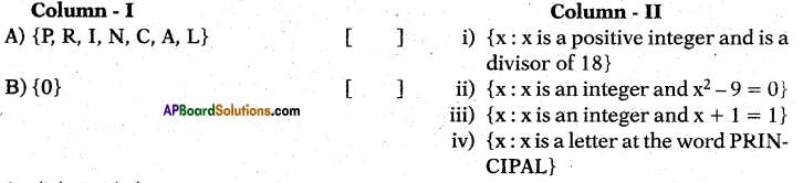 AP 10th Class Maths Bits Chapter 2 Sets Bits 14