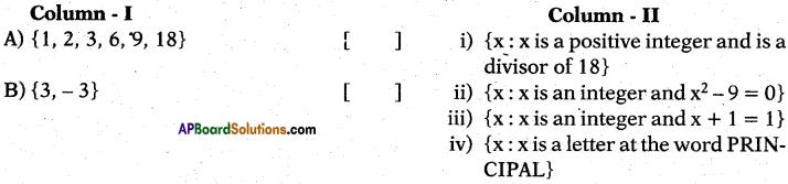 AP 10th Class Maths Bits Chapter 2 Sets Bits 15