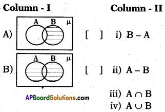 AP 10th Class Maths Bits Chapter 2 Sets Bits 17