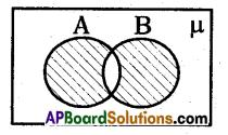 AP 10th Class Maths Bits Chapter 2 Sets Bits 6