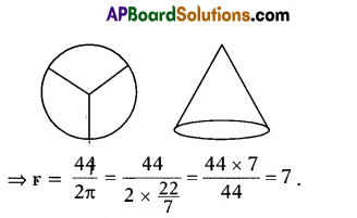AP 10th Class Maths Important Questions Chapter 10 Mensuration 10