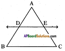 AP 10th Class Maths Important Questions Chapter 8 Similar Triangles Important Questions 16