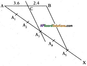 AP 10th Class Maths Important Questions Chapter 8 Similar Triangles Important Questions 19