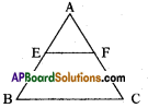 AP 10th Class Maths Important Questions Chapter 8 Similar Triangles Important Questions 20