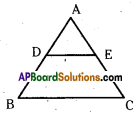 AP 10th Class Maths Important Questions Chapter 8 Similar Triangles Important Questions 21