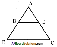 AP 10th Class Maths Important Questions Chapter 8 Similar Triangles Important Questions 22